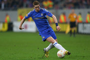 Fernando Torres of Chelsea in action during the UEFA Europa League Round of 16 match between FC Steaua Bucuresti and Chelsea at the National Arena on March 7, 2013 in Bucharest, Romania.