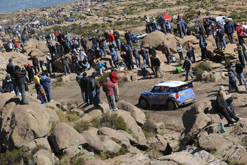Eliseo Salazar FIA World Rally Championship Argentina - Day Three