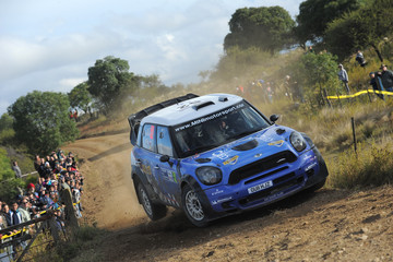 Eliseo Salazar FIA World Rally Championship Argentina - Day Two