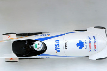 Shelly-Ann Brown FIBT World Cup Bobsled & Skeleton Training