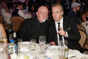 Actors Jonathan Banks and Bob Odenkirk attend the 5th Annual Critics' Choice Television Awards at The Beverly Hilton Hotel on May 31, 2015 in Beverly Hills, California.