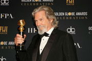 Jeff Bridges attends FIJI Water at the 76th Annual Golden Globe Awards Celebration on January 6, 2019 in Los Angeles, California.
