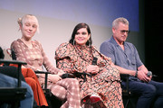 (L - R) Hunter Schafer, Barbie Ferreira and Eric Dane attend the premiere of HBO's Euphoria during the ATX Television Festival at the Paramount Theatre on May 6, 2019 in Austin, Texas.
