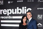 President and Chief Operating Officer of Republic Record Avery Lipman (R) and Janet Lipman attend Republic Records Grammy after party at Spring Place Beverly Hills on February 10, 2019 in Beverly Hills, California.