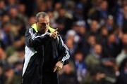 Chelsea Manager Avram Grant gives instructions from the sidelines during the UEFA Champions League Group B match between Chelsea and Schalke 04 at Stamford Bridge on October 24, 2007 in London, England.