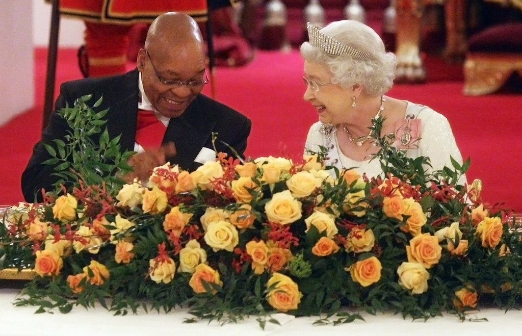 Image result for jacob zuma and the queen
