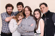 Actors Danny Masterson, Alexia Rasmussen, Robert Carlyle, writer/director Marshall Lewy, actors Savannah Lathem and A. Martinez pose for a portrait during the 2012 Sundance Film Festival at the Getty Images Portrait Studio at T-Mobile Village at the Lift on January 24, 2012 in Park City, Utah.