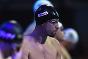 Pieter Timmers of Belgium looks on before he competes in the Mens 50m Freestyle heat on day 1 of the FINA Swimming World Cup held at Pieter van den Hoogenband & Tongelreep Swimming Stadium on September 28, 2018 in Eindhoven, Netherlands.