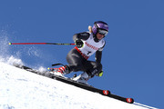 Tessa Worley of France competes in the Women's Giant Slalom during the FIS Alpine World Ski Championships on February 16, 2017 in St Moritz, Switzerland.