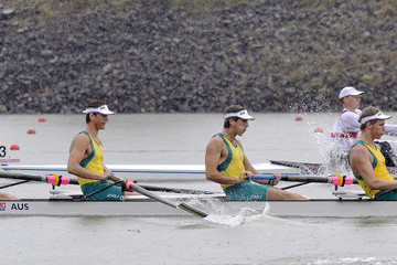 Aaron Wright FISA Rowing World Junior Championships - Day One