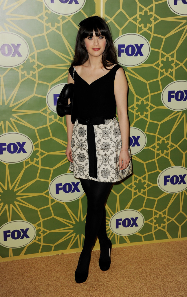 Zooey+Deschanel in FOX All-Star Party - Arrivals