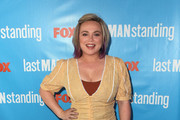 """Amanda Fuller attends FOX Celebrating the premiere of """"Last Man Standing"""" with the """"Last Fan Standing"""" marathon event at Hollywood and Highland on September 20, 2018 in Hollywood, California."""