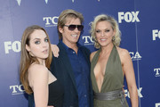 Actors Elizabeth Gillies, Denis Leary and Elaine Hendrix attend the FOX Summer TCA Press Tour on August 8, 2016 in Los Angeles, California.
