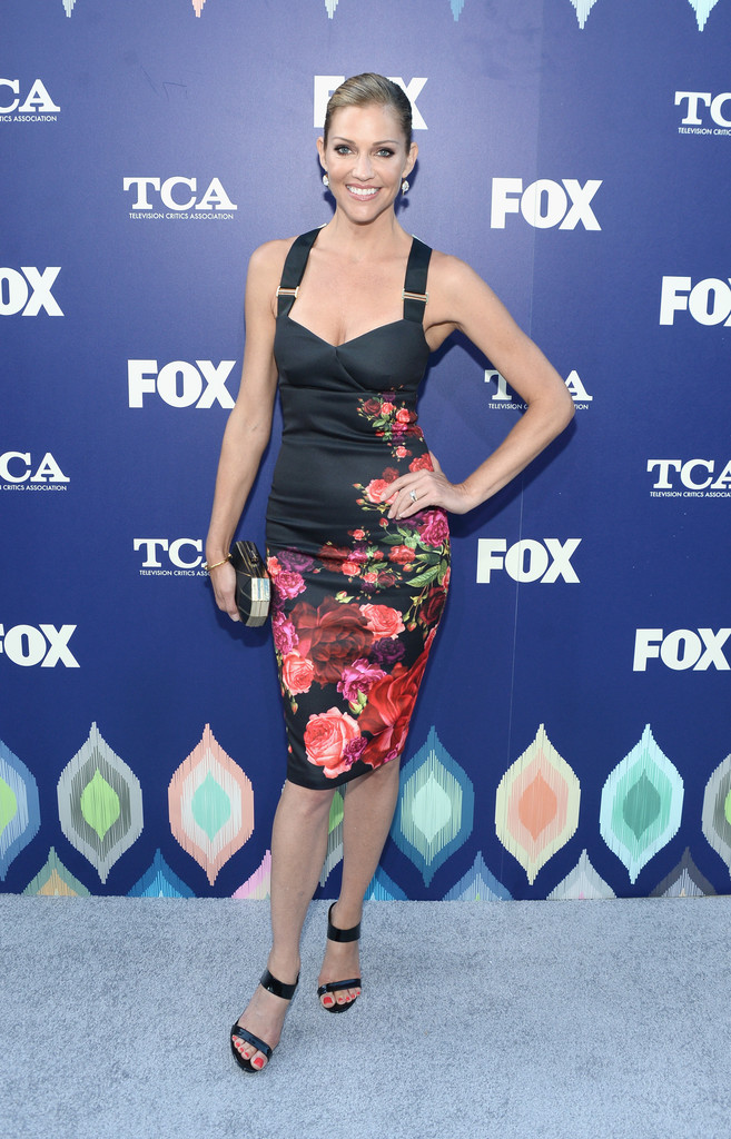 Tricia Helfer attends the FOX Summer TCA Press Tour in Los Angeles