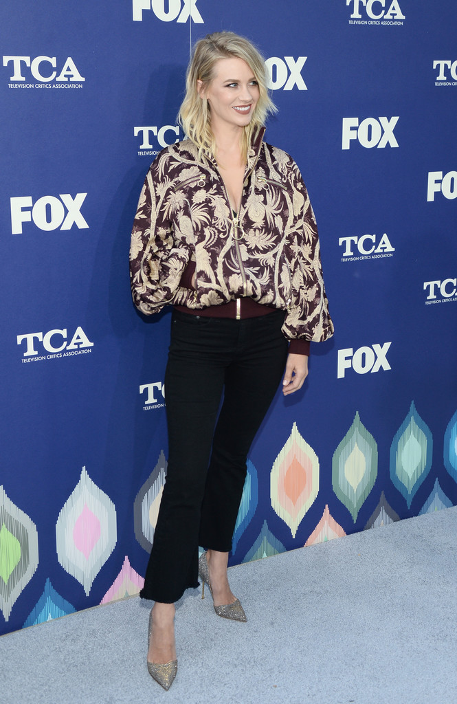 January Jones - FOX Summer TCA Press Tour in Los Angeles 8/8/2016