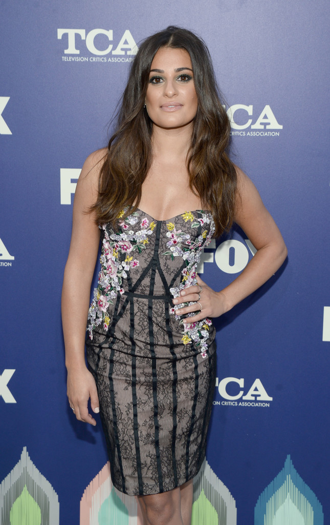 Lea Michele attends the TCA Press Tour in Los Angeles 08/08/2016
