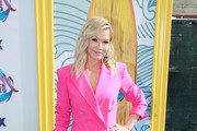 Jennie Garth attends FOX's Teen Choice Awards 2019 on August 11, 2019 in Hermosa Beach, California.