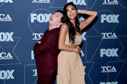 (L-R) Ken Jeong and Nicole Scherzinger attend the FOX Winter TCA All Star Party at The Langham Huntington, Pasadena on January 07, 2020 in Pasadena, California.