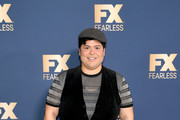 Harvey Guillen of 'What We Do in the Shadows' attends the FX Networks' Star Walk Winter Press Tour 2020 at The Langham Huntington, Pasadena on January 09, 2020 in Pasadena, California.