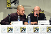 Actors Theo Rossi and Dayton Callie attend FX's 'Sons of Anarchy' panel during Comic-Con International 2014 at San Diego Convention Center on July 27, 2014 in San Diego, California.