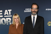 """Patricia Arquette and Eric White attend attends FYC Event For Showtime's """"Escape At Dannemora"""" at NeueHouse Hollywood on June 05, 2019 in Los Angeles, California."""