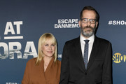 """Patricia Arquette and Eric White attend  FYC Event For Showtime's """"Escape At Dannemora"""" at NeueHouse Hollywood on June 05, 2019 in Los Angeles, California."""