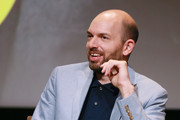 """Paul Scheer during the panel discussion at the FYC Red Carpet Event For Showtimes' """"Black Monday"""" at Saban Media Center on May 14, 2019 in North Hollywood, California."""