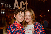 """Joey King and Hunter King attend the FYC Screening For Hulu's """"The Act"""" at Paramount Studios on August 21, 2019 in Hollywood, California."""