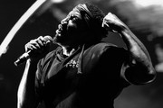 Image has been converted to black and white.) Q-Tip of A Tribe Called Quest performs onstage during day 2 of FYF Fest 2017 at Exposition Park on July 22, 2017 in Los Angeles, California.