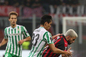 Fabio Borini AC Milan vs. Real Betis - UEFA Europa League - Group F