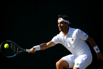 Fabio Fognini Day Three: The Championships - Wimbledon 2017