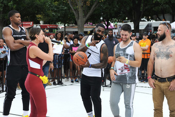 Fabolous PUMA & Basketball Star Rudy Gay Celebrity 3 Point Contest At Made In America