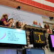 Fabrizio Freda Estee Lauder Rings the NYSE Opening Bell
