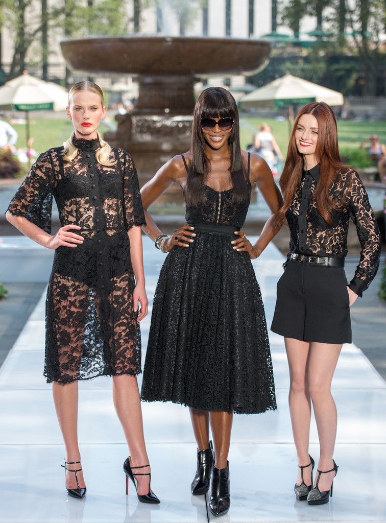 Lydia Hearst In 'The Face' Season 2 Pop-Up Fashion Show