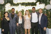 "(L-R) Actors Kelly Marie Tran, Jovan Adepo, Executive Producer/Creator Kit Steinkellner, actors Elizabeth Olsen, Mamoudou Athie, and Zack Robidas attend the Facebook Watch ""Sorry For Your Loss"" S2 Premiere at NeueHouse Hollywood on October 1, 2019 in Los Angeles, California."