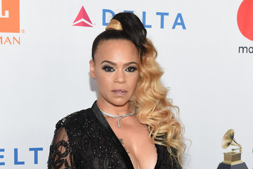 Faith Evans Grammy Salute To Industry Icons Honoring Jay-Z - Arrivals