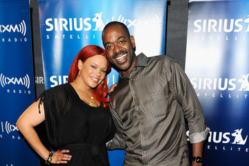 Dion Summers Faith Evans Visits SIRIUS XM