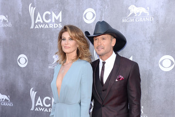 Faith Hill Arrivals at the Academy of Country Music Awards — Part 2