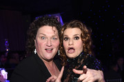 Actresses Dot-Marie Jones (L) and Sandra Bernhard attend the Family Equality Council's 2015 Los Angeles Awards dinner at The Beverly Hilton Hotel on February 28, 2015 in Beverly Hills, California.