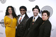 Donna de la Cruz,Nile Rodgers, Tom Silverman and Rosie Lopez attend We Are Family Foundation honors Dolly Parton & Jean Paul Gaultier at Hammerstein Ballroom on November 05, 2019 in New York City.