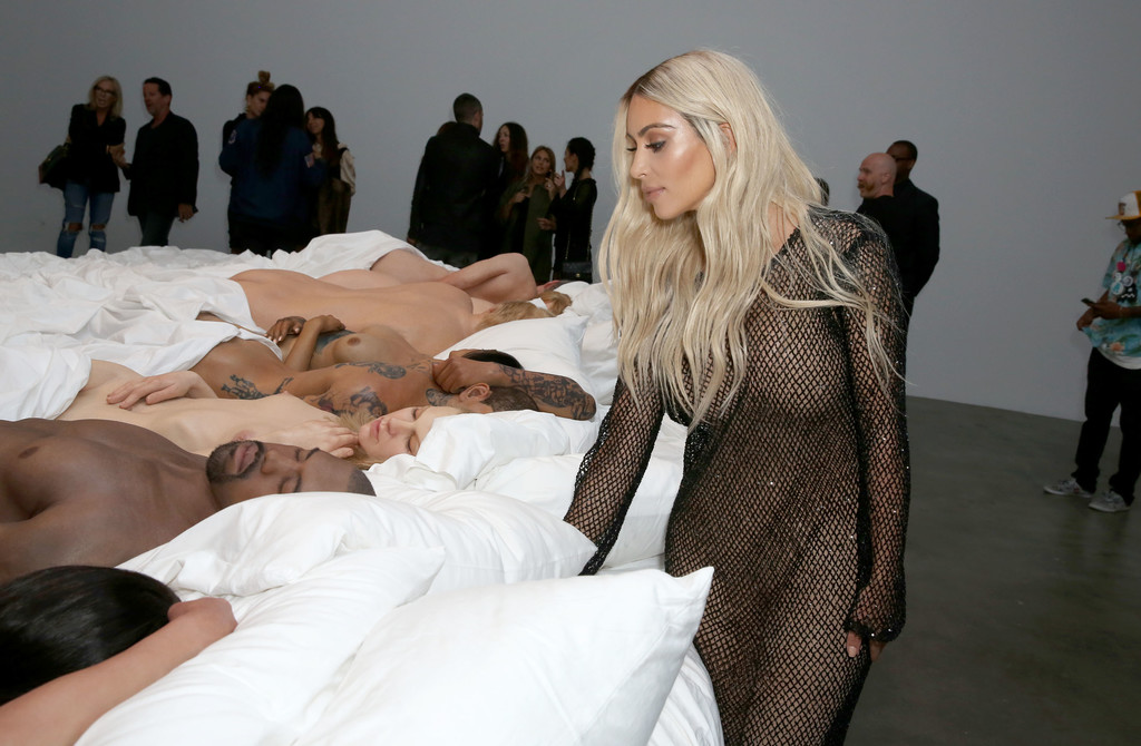 Famous By Kanye West Private Exhibition Event At Blum And