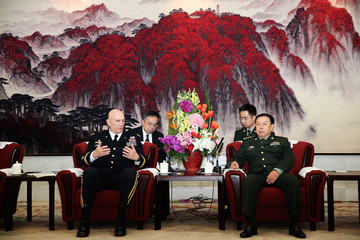 Fan Changlong Senior US Military Officer Visits China