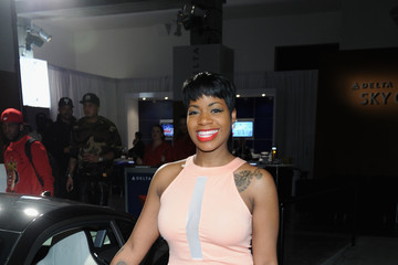 Fantasia Barrino Sports Illustrated & Jaguar Super Saturday VIP Event At The Diageo Liquid Cellar