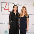 Queen Rania and Evie Evangelou