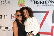 (L-R) Donna Karan and Veronica Webb attend Fashion 4 Development's 9th Annual Official First Ladies Luncheon at The Pierre Hotel on September 24, 2019 in New York City.