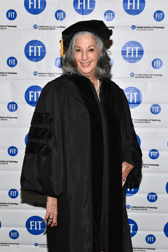 Essie Weingarten in The Fashion Institute of Technology's 2017 Commencement Ceremony