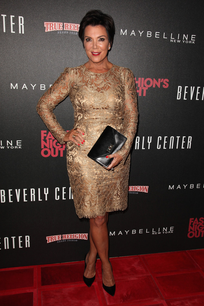 72d991c6cc4 Kris Jenner Photos Photos - Fashion s Night Out 2012 At Beverly ...