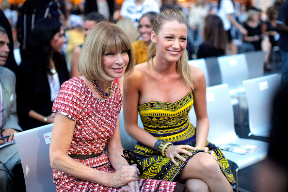 Anna+Wintour in Fashion's Night Out: The Show - Runway
