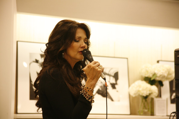 Lynda Carter attends the celebration for Fashion's Night Out with performance by Lynda Carter at the Talbots Madison Avenue Store on September 10, 2009 in New York City.