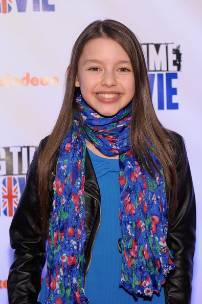 Fatima Ptacek Photos Photos Nickelodeon Hosts Orange Carpet